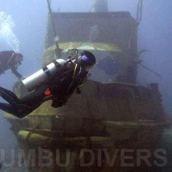 吉利群岛-沉船潜水