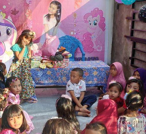 Un anniversaire pour une princesse indonésienne