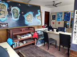 Office of the dive center