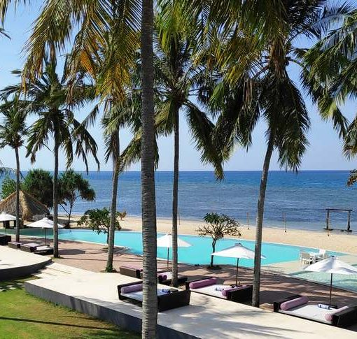 Paradise beach in Lombok