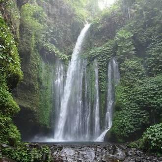 visit Lombok, waterfalls